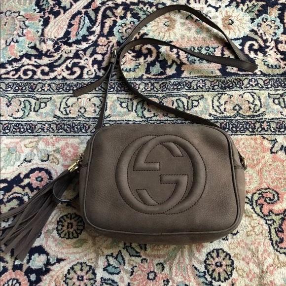 6fbd765fbddd Gucci Bags | Disco Soho Crossbody Bag Nubuck Leather | Poshmark